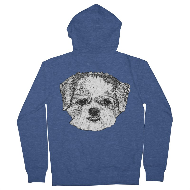 Biggles Men's French Terry Zip-Up Hoody by Rorockll's Artist Shop
