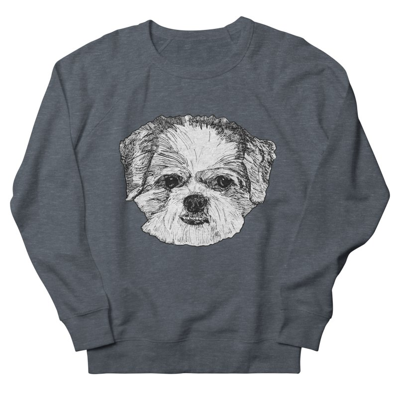 Biggles Men's French Terry Sweatshirt by Rorockll's Artist Shop