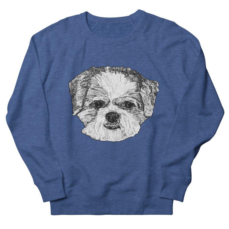 Biggles Men's French Terry Sweatshirt by Rorockll's Artist Shop