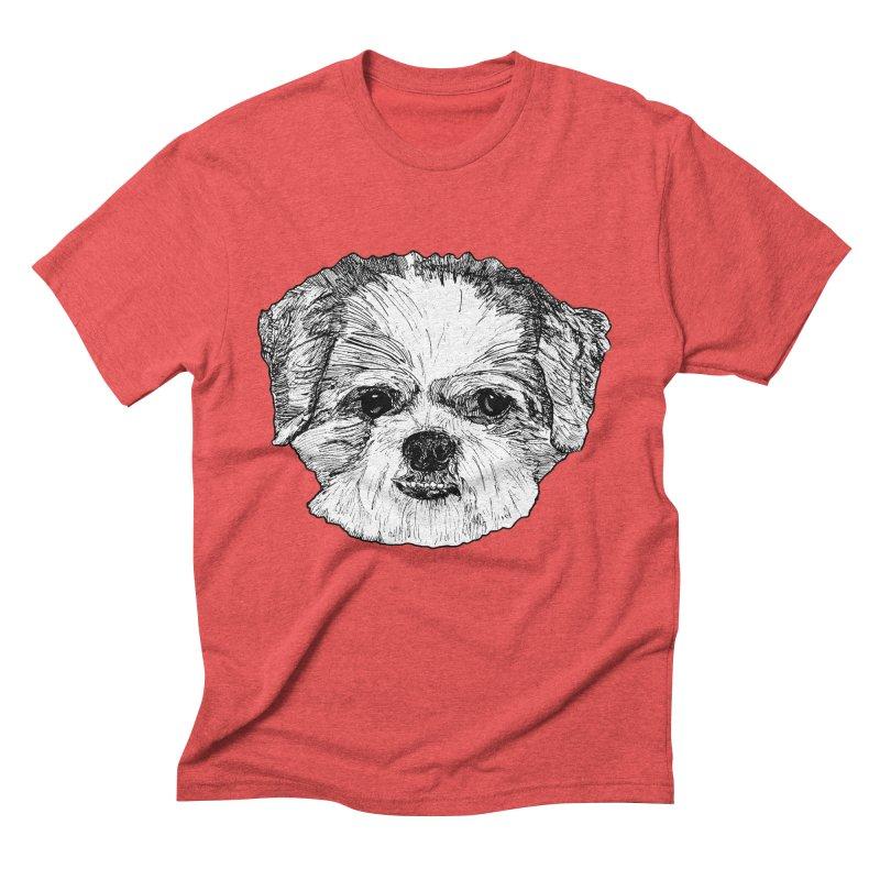 Biggles Men's Triblend T-Shirt by Rorockll's Artist Shop