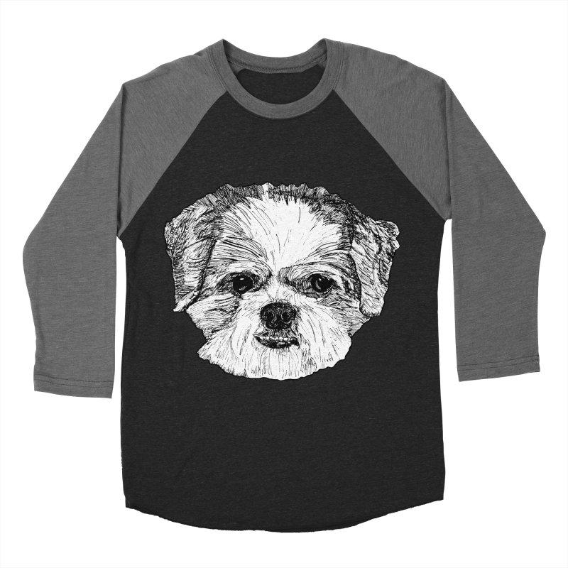 Biggles Women's Baseball Triblend Longsleeve T-Shirt by Rorockll's Artist Shop