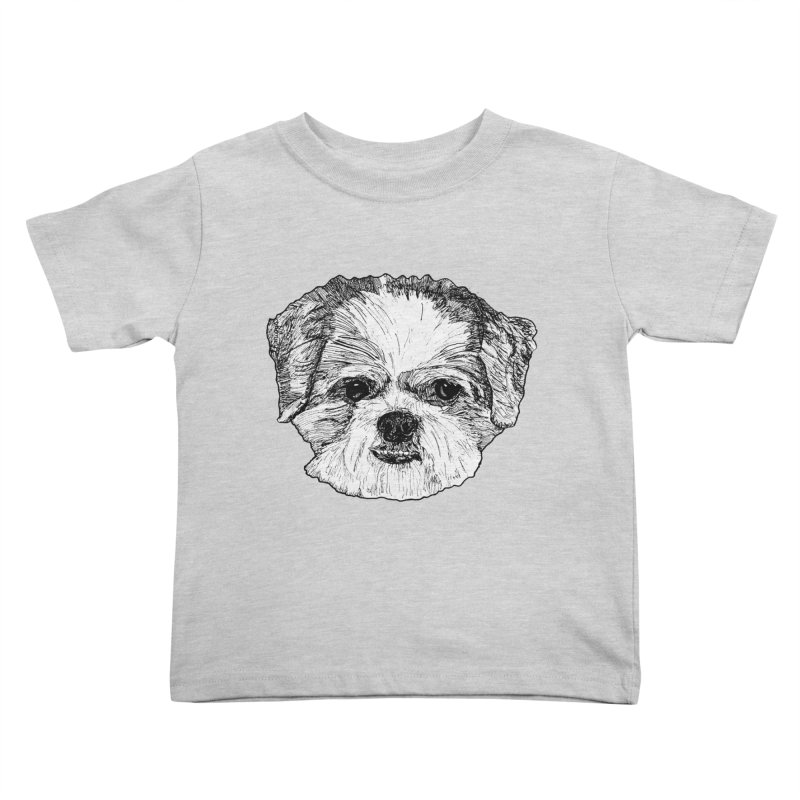 Biggles Kids Toddler T-Shirt by Rorockll's Artist Shop