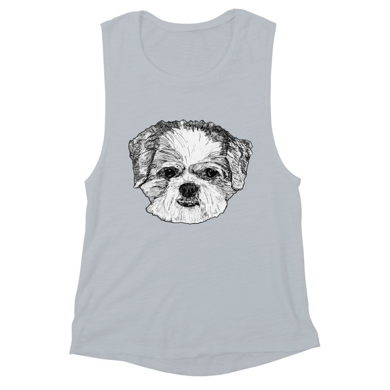 Biggles Women's Muscle Tank by Rorockll's Artist Shop