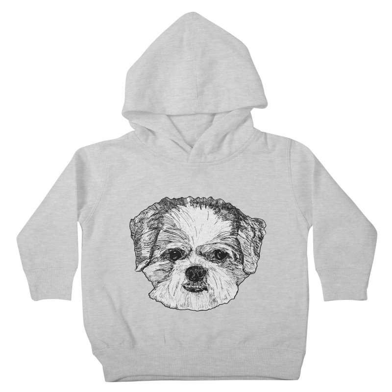 Biggles Kids Toddler Pullover Hoody by Rorockll's Artist Shop