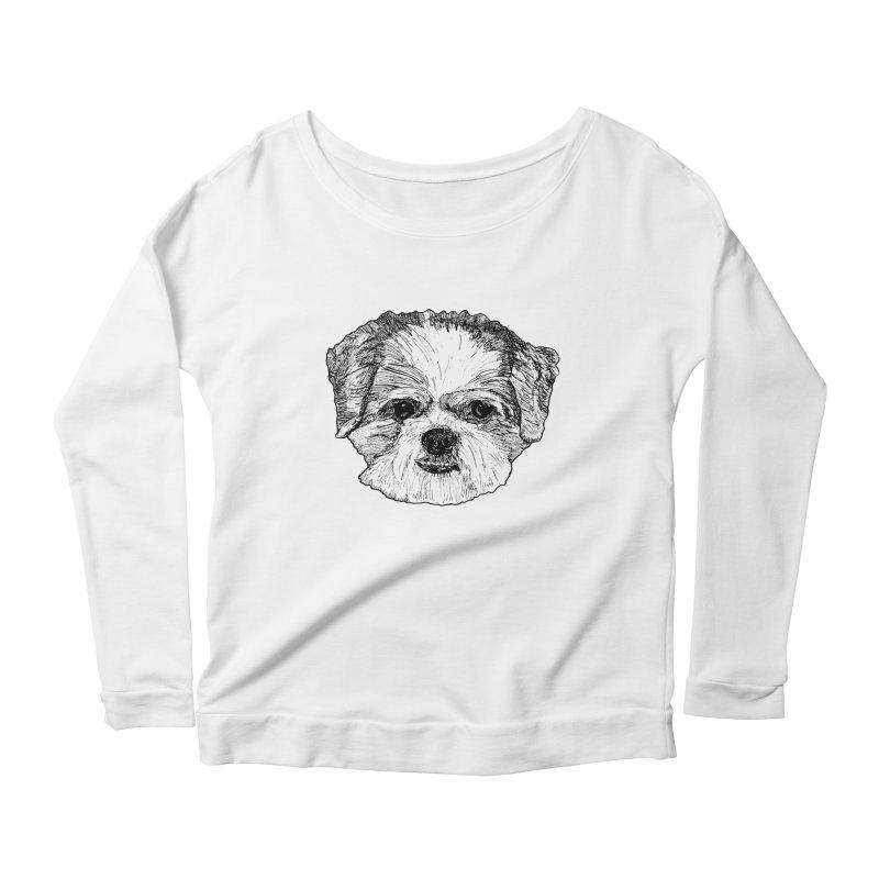 Biggles Women's Scoop Neck Longsleeve T-Shirt by Rorockll's Artist Shop