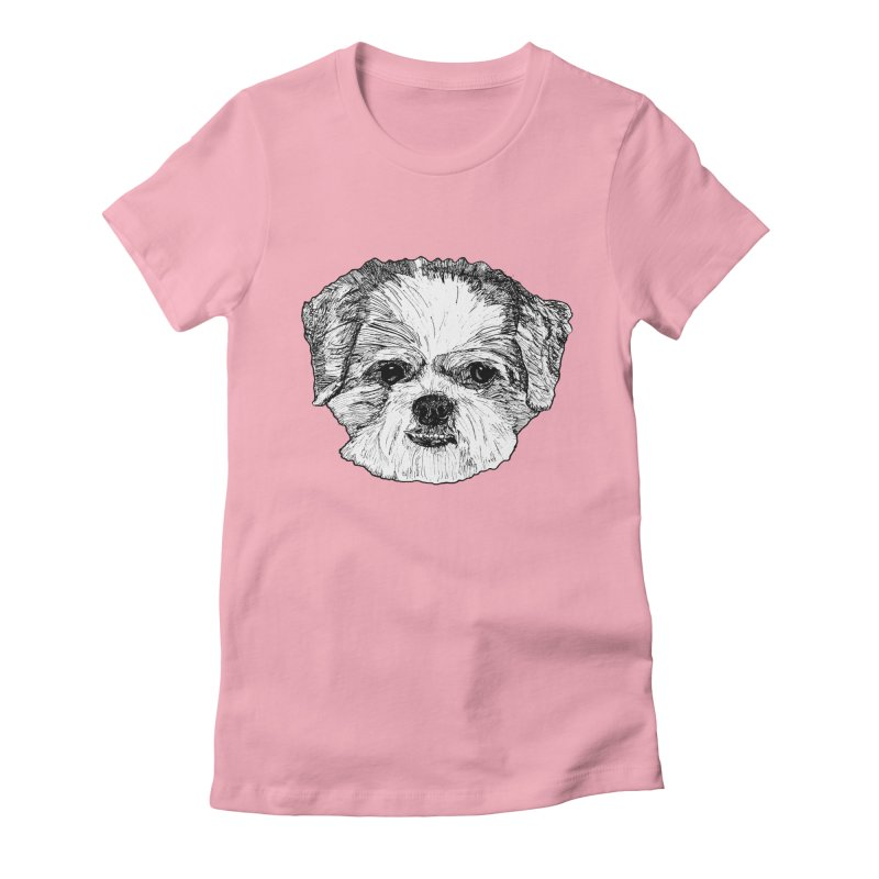 Biggles Women's Fitted T-Shirt by Rorockll's Artist Shop
