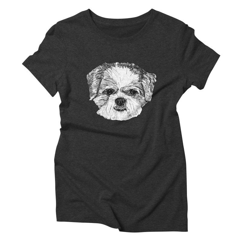 Biggles Women's Triblend T-Shirt by Rorockll's Artist Shop