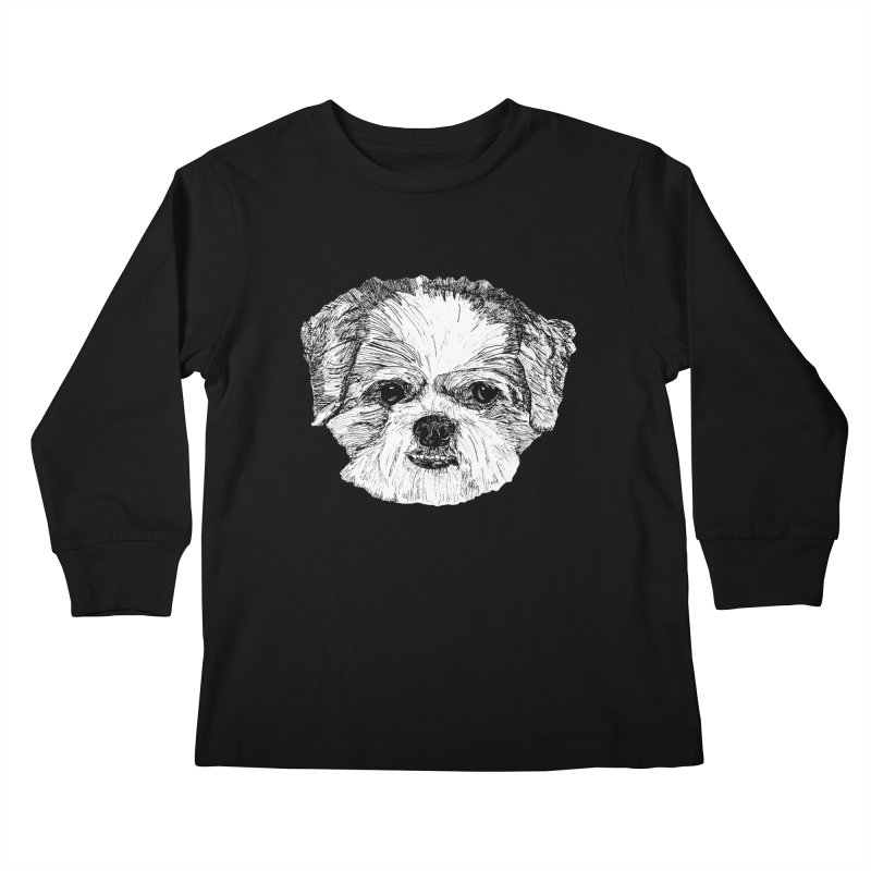 Biggles Kids Longsleeve T-Shirt by Rorockll's Artist Shop