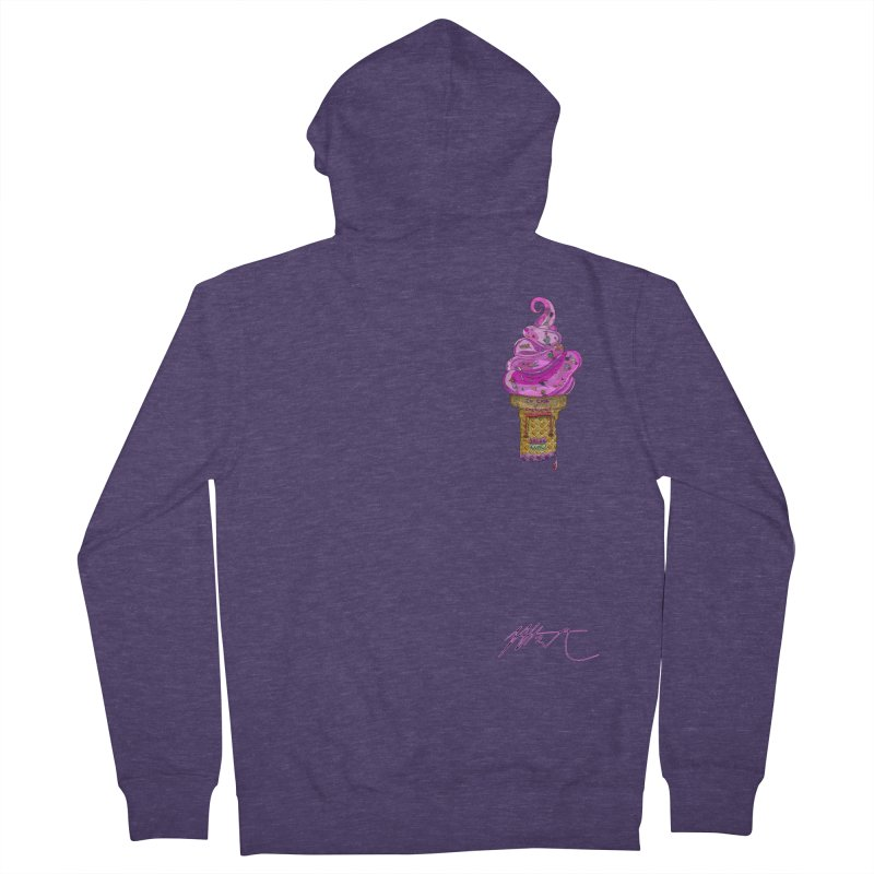 After Bronze (small scale) Men's French Terry Zip-Up Hoody by Rorockll's Artist Shop