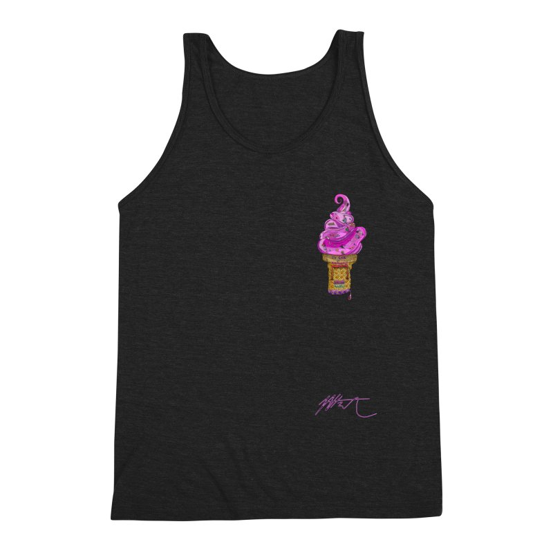 After Bronze (small scale) Men's Triblend Tank by Rorockll's Artist Shop