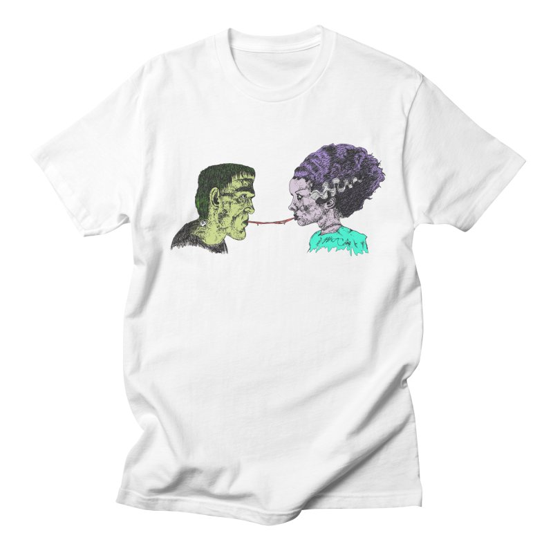 Lady and The Champ (Color) Men's Regular T-Shirt by Rorockll's Artist Shop