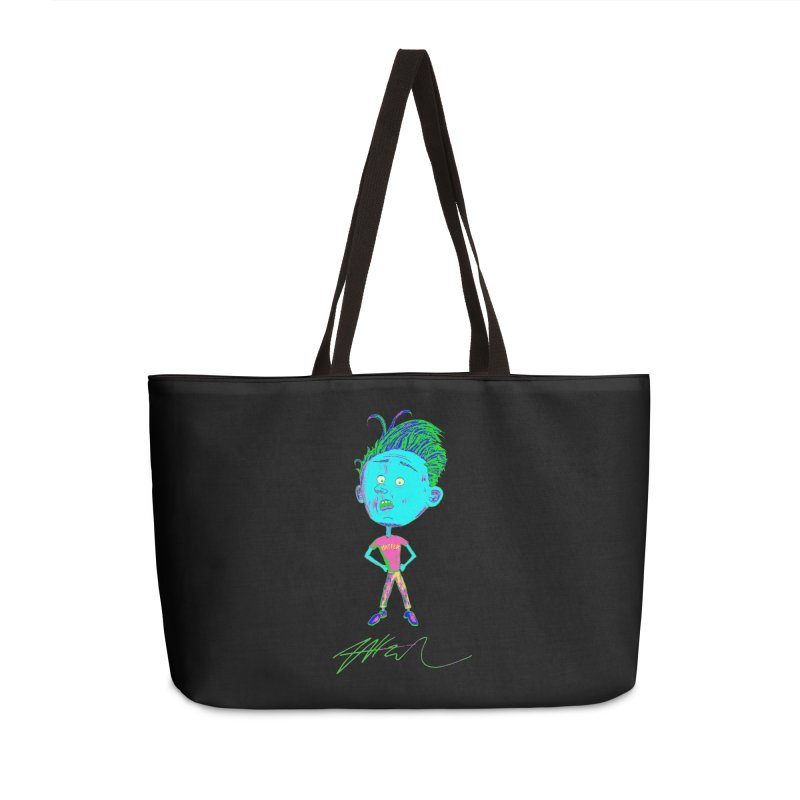Mind Over Accessories Weekender Bag Bag by Rorockll's Artist Shop