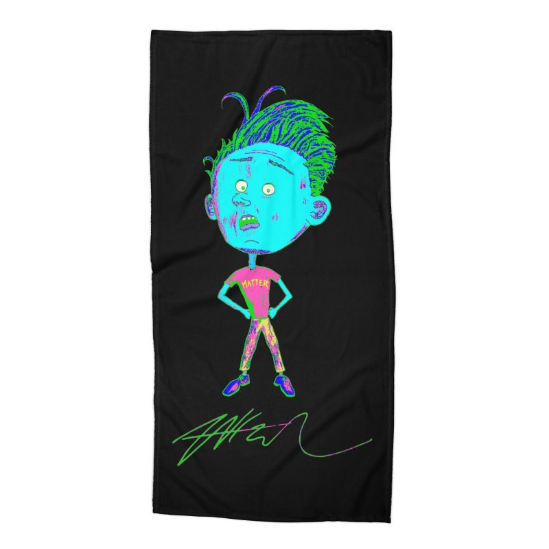 Mind Over Accessories Beach Towel by Rorockll's Artist Shop