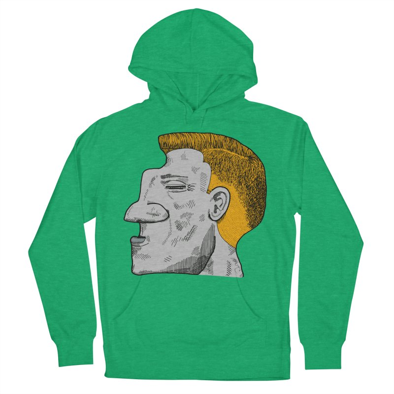 Profile Women's French Terry Pullover Hoody by Rorockll's Artist Shop