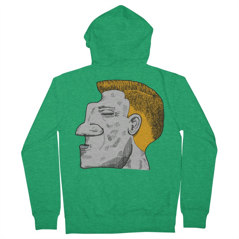 Profile Women's French Terry Zip-Up Hoody by Rorockll's Artist Shop