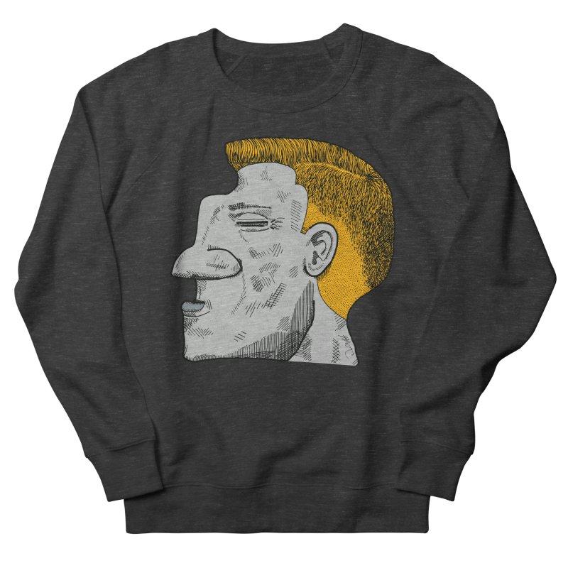 Profile Women's French Terry Sweatshirt by Rorockll's Artist Shop