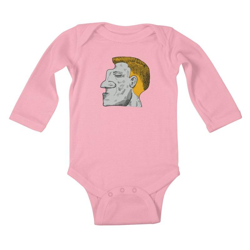 Profile Kids Baby Longsleeve Bodysuit by Rorockll's Artist Shop