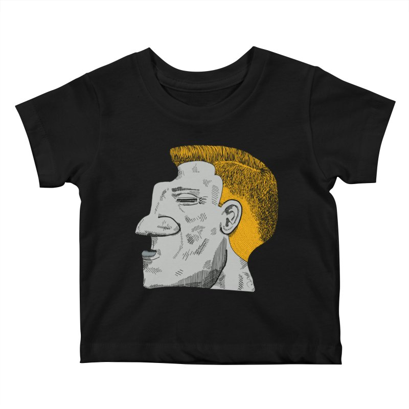 Profile Kids Baby T-Shirt by Rorockll's Artist Shop