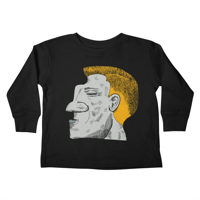 Profile Kids Toddler Longsleeve T-Shirt by Rorockll's Artist Shop