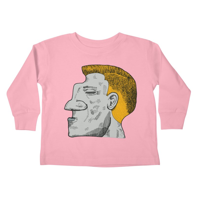 Profile Kids Toddler Longsleeve T-Shirt by Rorockll's Artist Shop