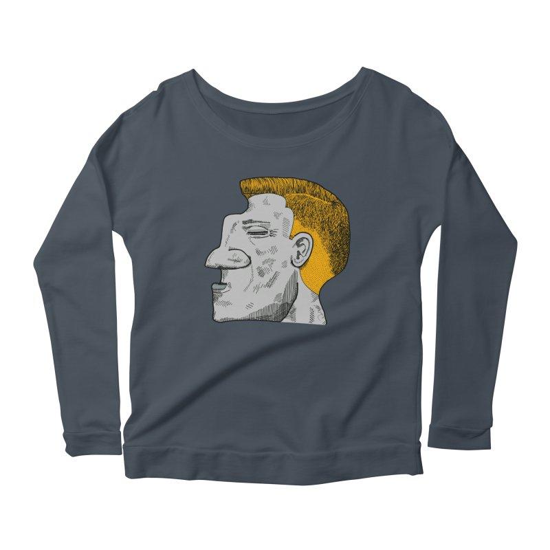 Profile Women's Scoop Neck Longsleeve T-Shirt by Rorockll's Artist Shop