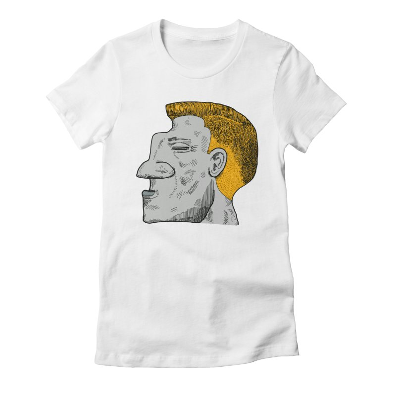 Profile Women's Fitted T-Shirt by Rorockll's Artist Shop
