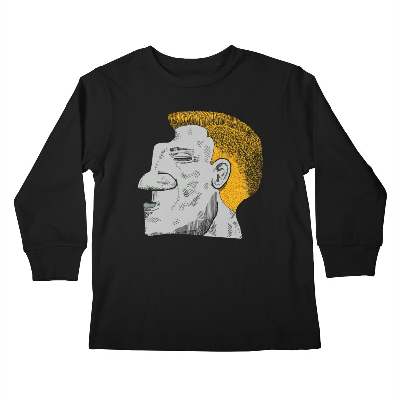 Profile Kids Longsleeve T-Shirt by Rorockll's Artist Shop