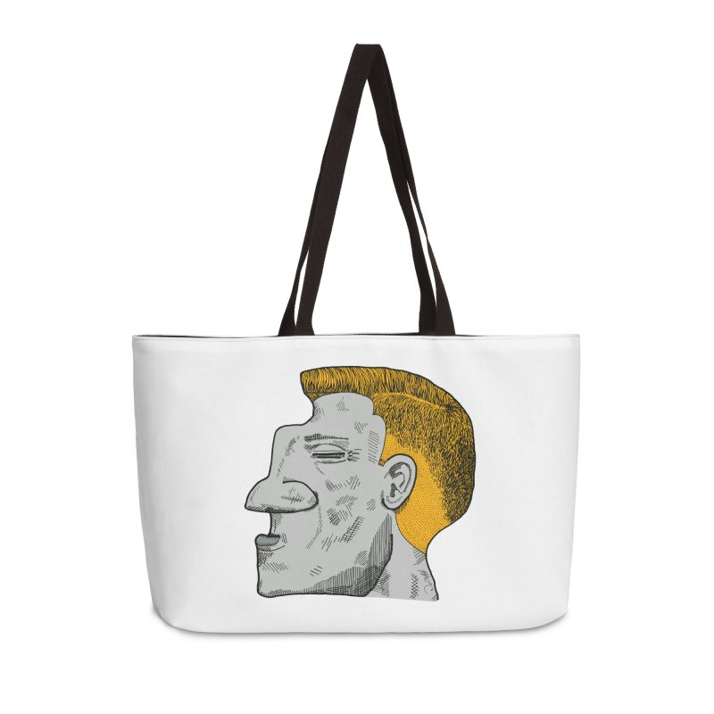 Profile Accessories Weekender Bag Bag by Rorockll's Artist Shop