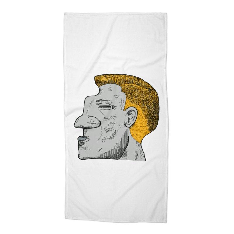 Profile Accessories Beach Towel by Rorockll's Artist Shop