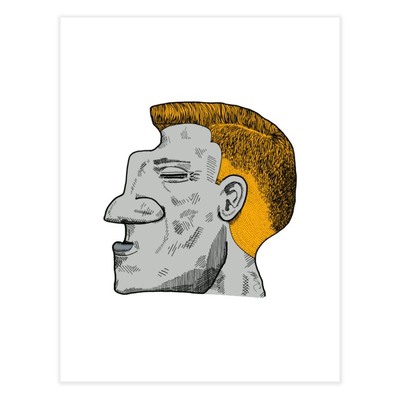 Profile Home Fine Art Print by Rorockll's Artist Shop