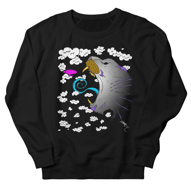 Dark Tiger Women's French Terry Sweatshirt by Rorockll's Artist Shop