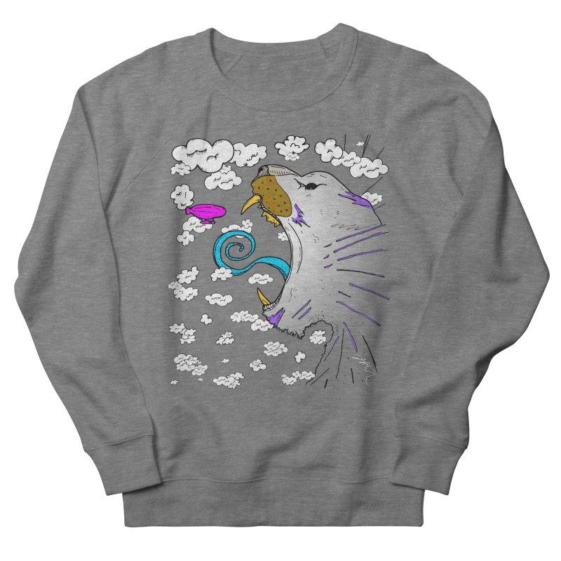 Dark Tiger Men's French Terry Sweatshirt by Rorockll's Artist Shop