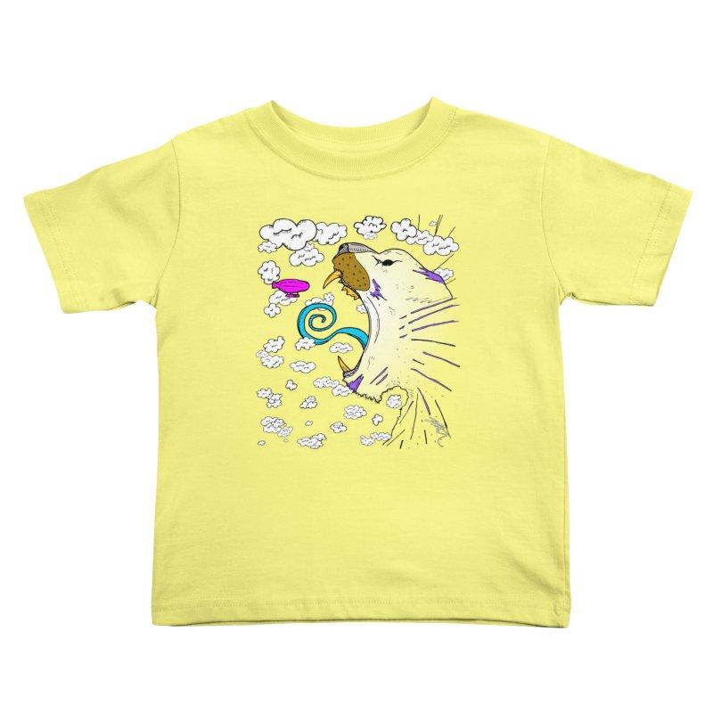 Dark Tiger Kids Toddler T-Shirt by Rorockll's Artist Shop