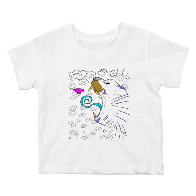 Dark Tiger Kids Baby T-Shirt by Rorockll's Artist Shop