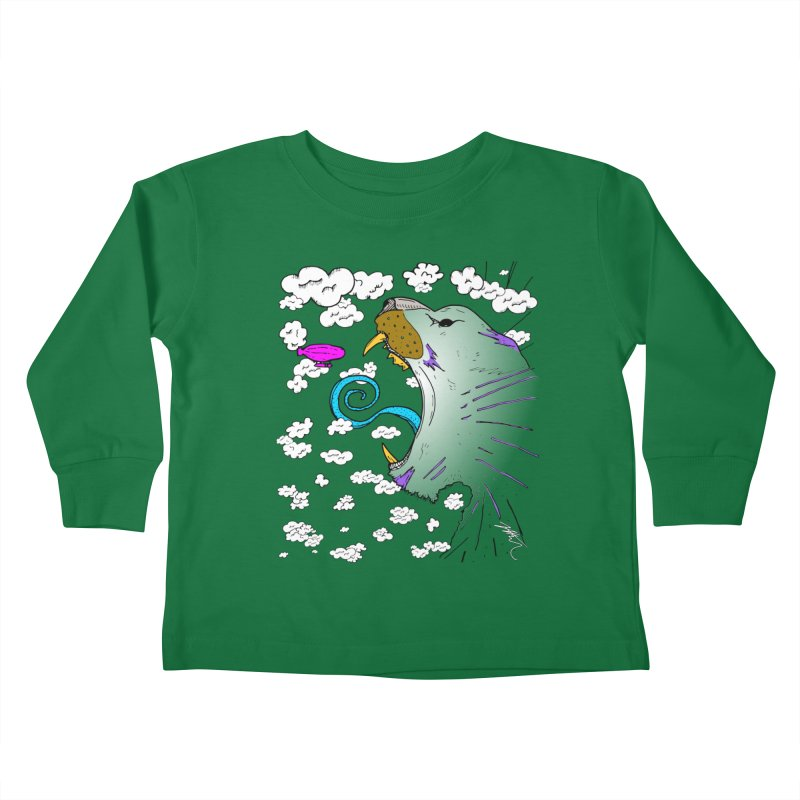 Dark Tiger Kids Toddler Longsleeve T-Shirt by Rorockll's Artist Shop