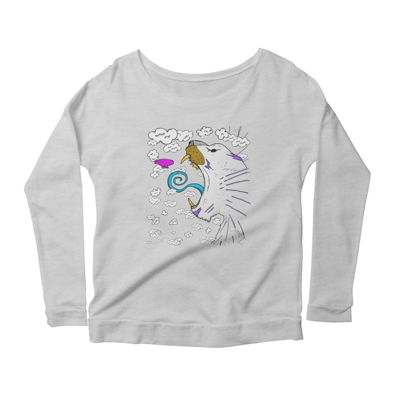 Dark Tiger Women's Scoop Neck Longsleeve T-Shirt by Rorockll's Artist Shop