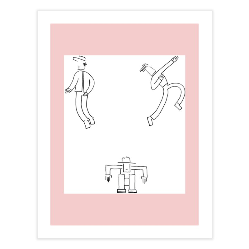 Flowie Trio Home Fine Art Print by Rorockll's Artist Shop