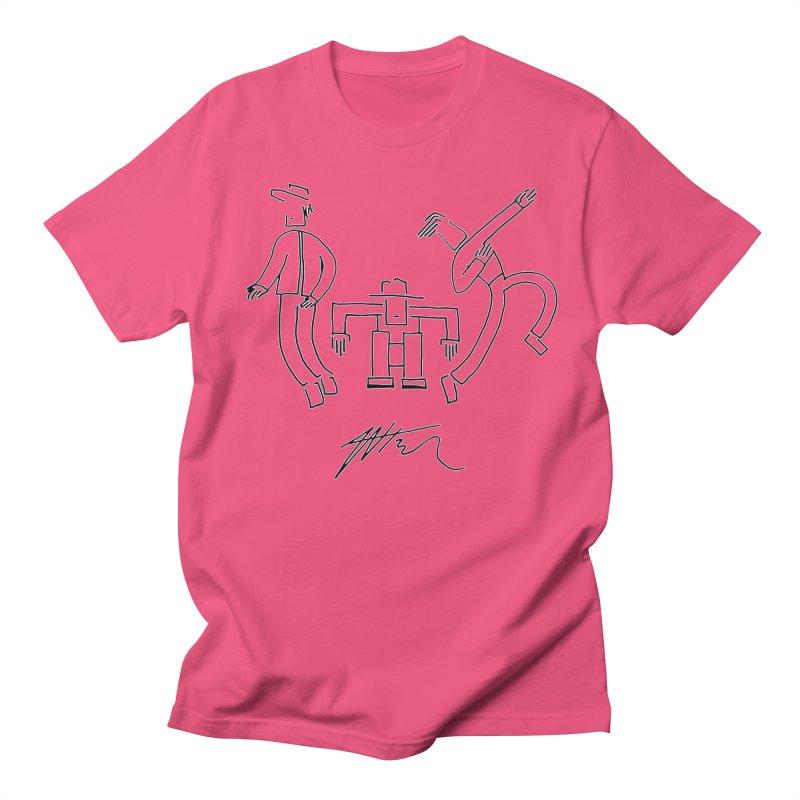 Flowie Trio Men's Regular T-Shirt by Rorockll's Artist Shop