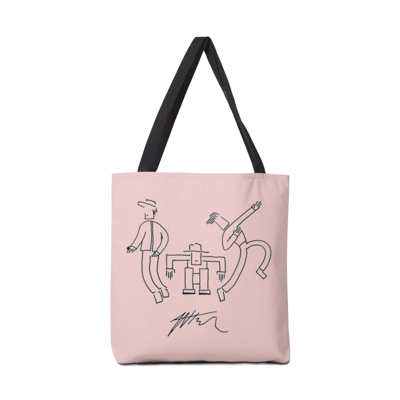 Flowie Trio Accessories Tote Bag Bag by Rorockll's Artist Shop