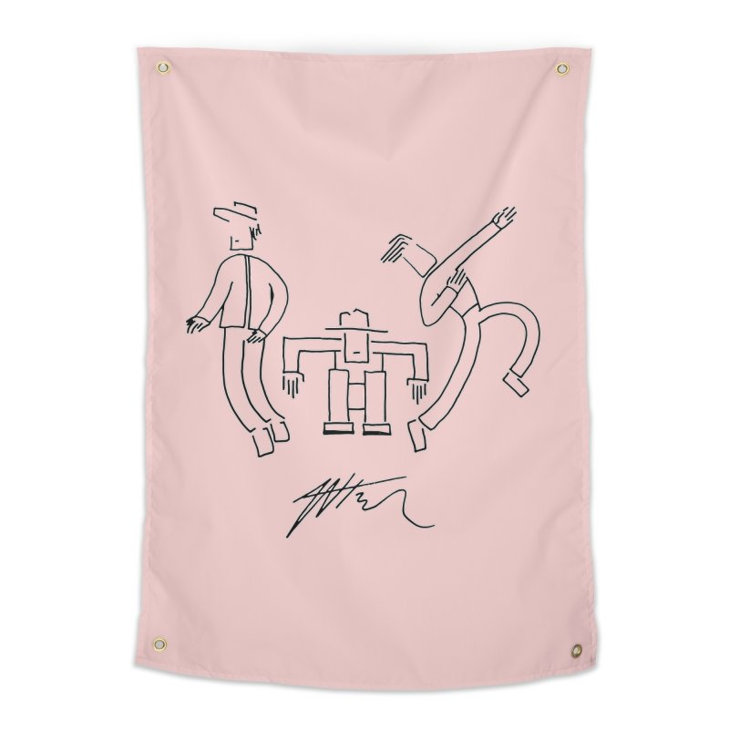 Flowie Trio Home Tapestry by Rorockll's Artist Shop