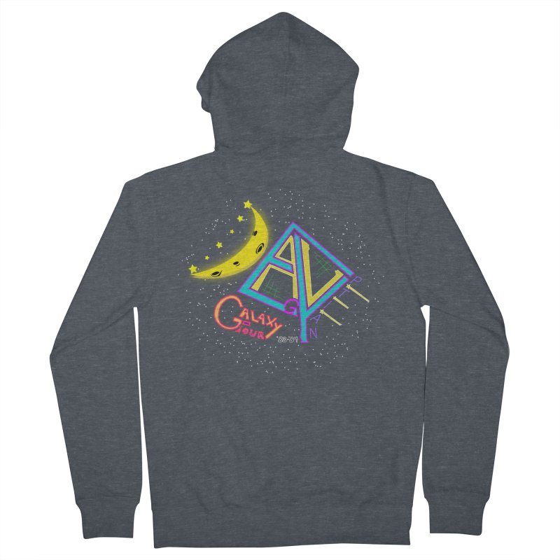 Egyptian Dave Galaxy Tour Women's French Terry Zip-Up Hoody by Rorockll's Artist Shop