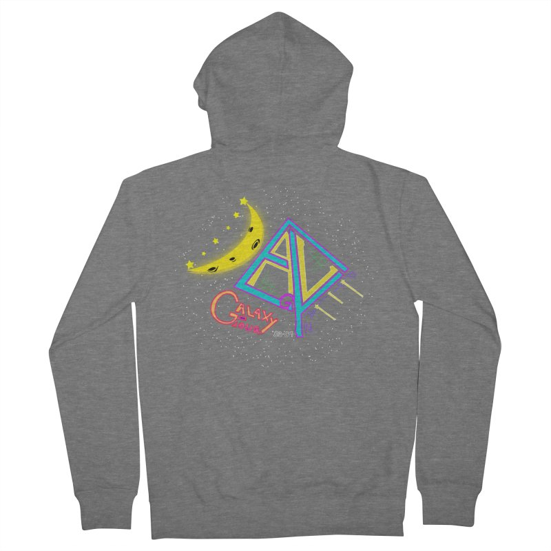 Egyptian Dave Galaxy Tour Men's French Terry Zip-Up Hoody by Rorockll's Artist Shop