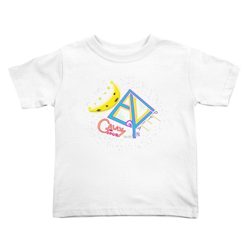 Egyptian Dave Galaxy Tour Kids Toddler T-Shirt by Rorockll's Artist Shop