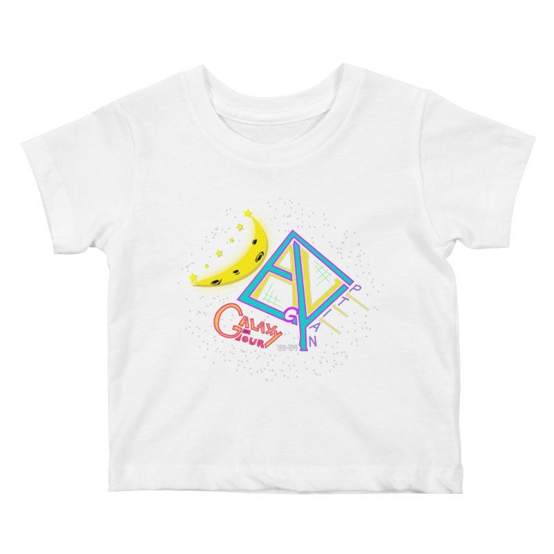 Egyptian Dave Galaxy Tour Kids Baby T-Shirt by Rorockll's Artist Shop
