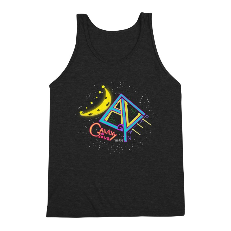 Egyptian Dave Galaxy Tour Men's Triblend Tank by Rorockll's Artist Shop