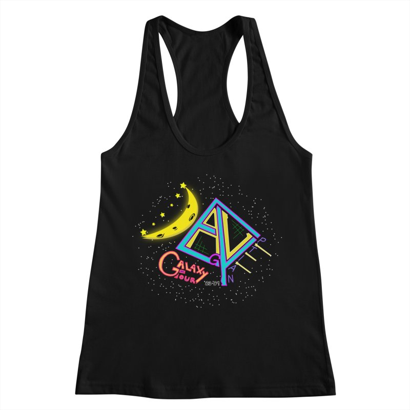 Egyptian Dave Galaxy Tour Women's Racerback Tank by Rorockll's Artist Shop