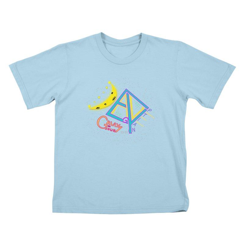 Egyptian Dave Galaxy Tour Kids T-Shirt by Rorockll's Artist Shop