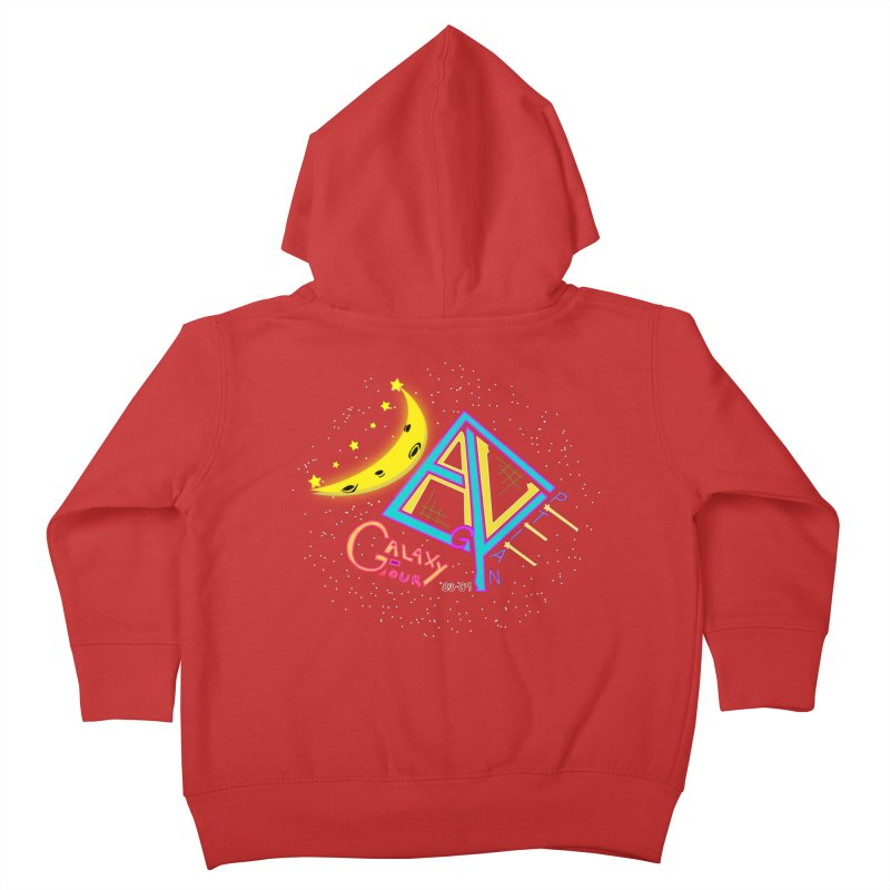 Egyptian Dave Galaxy Tour Kids Toddler Zip-Up Hoody by Rorockll's Artist Shop