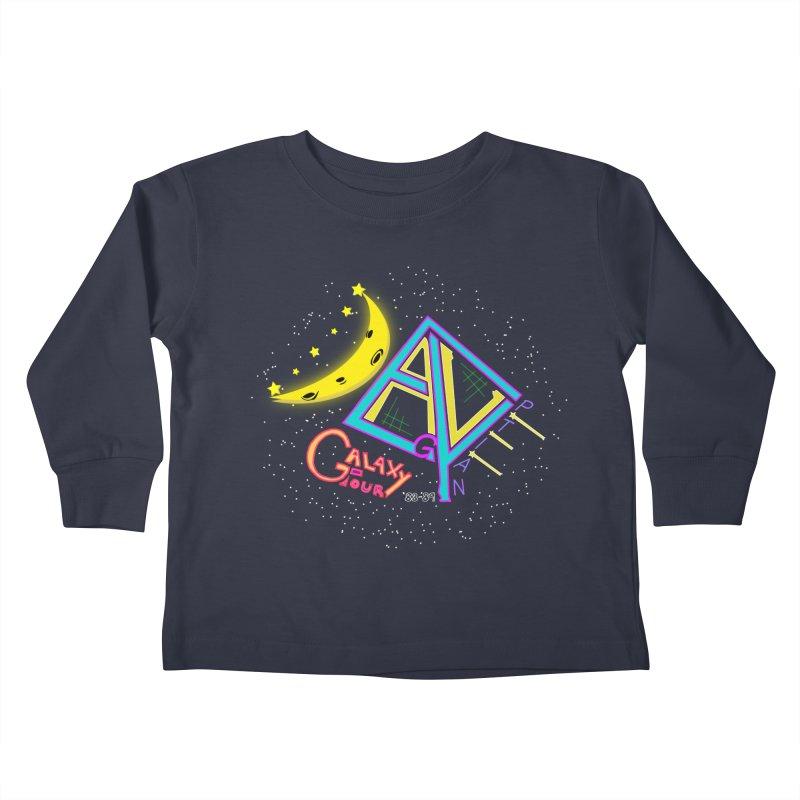 Egyptian Dave Galaxy Tour Kids Toddler Longsleeve T-Shirt by Rorockll's Artist Shop