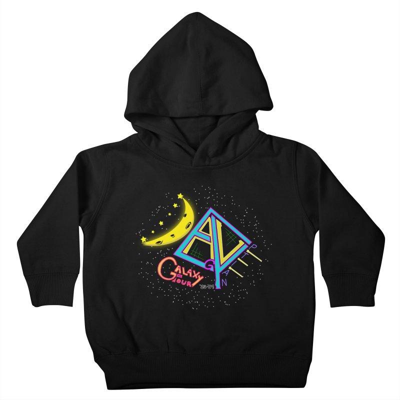 Egyptian Dave Galaxy Tour Kids Toddler Pullover Hoody by Rorockll's Artist Shop